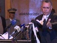 نقيب المحامين السابق يخلع جبّته أمام رئيس #موريتانيا