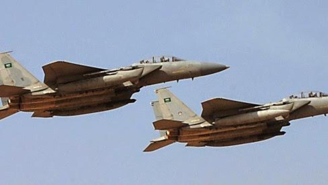 Saudi jets Reuters