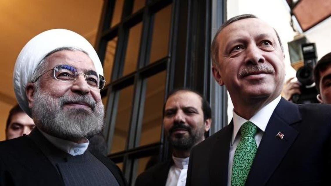 erdogan with rohani