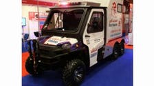 Dubai unveils 'world's smallest ambulance' to reach off-roaders