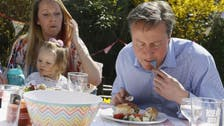 David Cameron mocked after nibbling hot dog with fork and knife