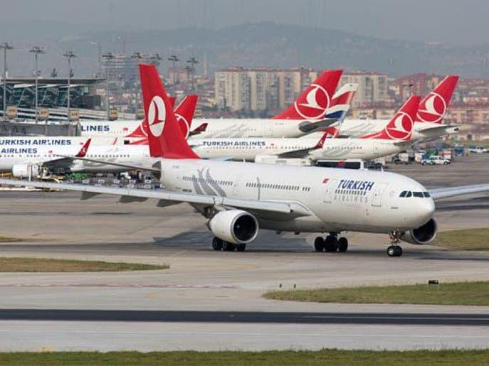 الخطوط التركية: توقف 85% من الطائرات بسبب كورونا