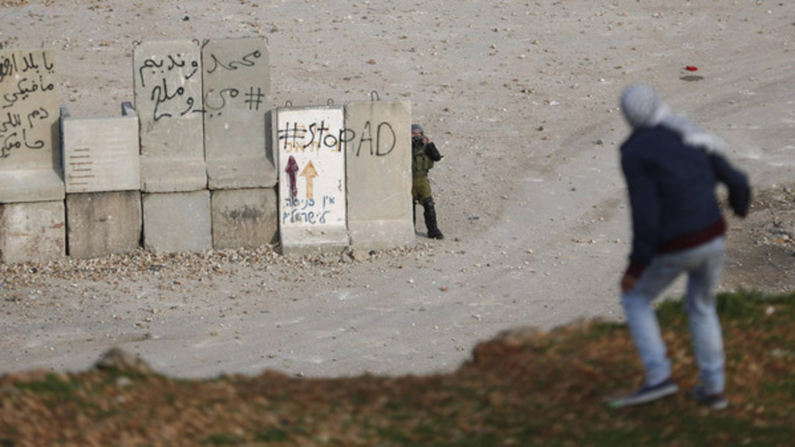 West Bank Setteler