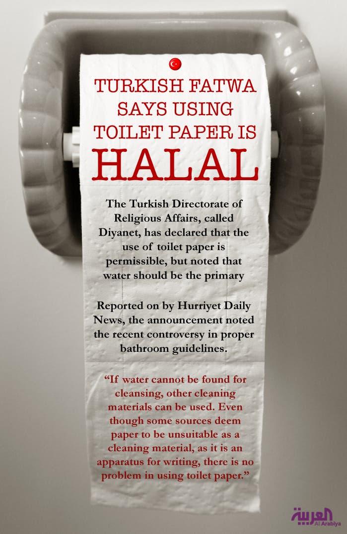 Turkish Fatwa Says Using Toilet Paper Is Halal Al