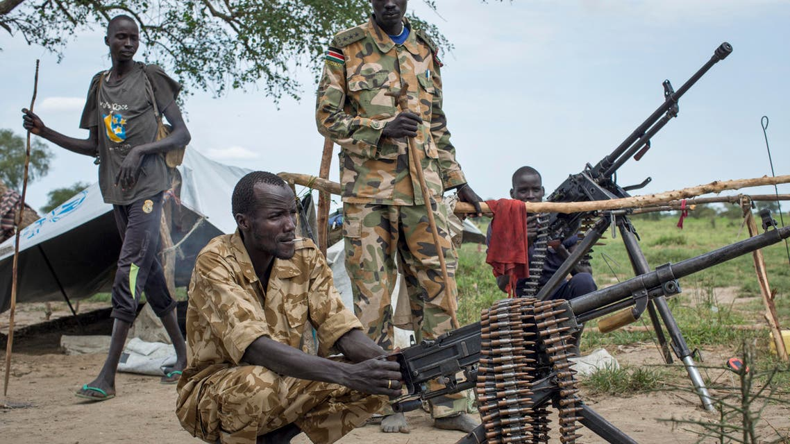 In this Saturday, Sept. 20, 2014 file photo, rebel soldiers guard the village of Majieng, about 6km from the town of Bentiu, in South Sudan. (File Photo: AP)