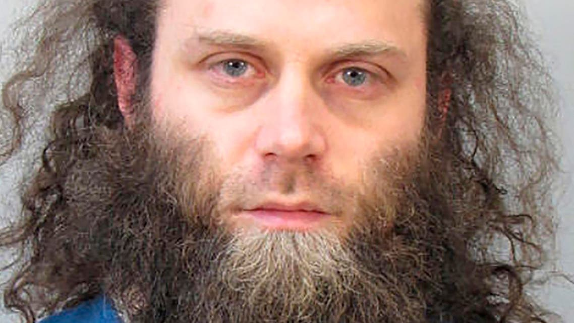Joshua Ray Van Haften, 34, is seen in an undated photo release by the Dane County Sheriff's Office in Madison, Wisconsin April 9, 2015. Van Haften has been charged with trying to provide support for the Islamic State militant group, the U.S. Justice Department said on Thursday. REUTERS/Dane County Sheriff's Office/Handout