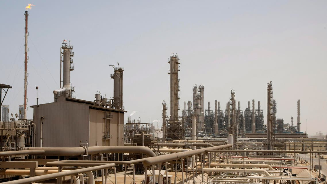 This May. 3, 2009 file photo shows an oil facility in Jubeil, about 600 km from Riyadh, Saudi Arabia. (AP)