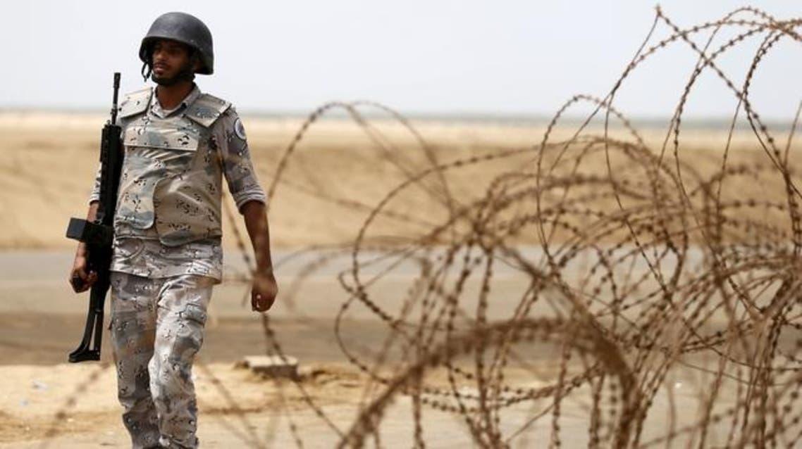A Saudi border guard patrols Saudi Arabia's maritime border with Yemen along a beach on the Red Sea, near Jizan April 8, 2015. (File: Reuters)