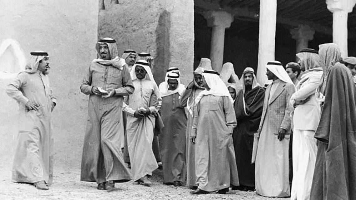 خادم الحرمين عندما كان أميراً للرياض