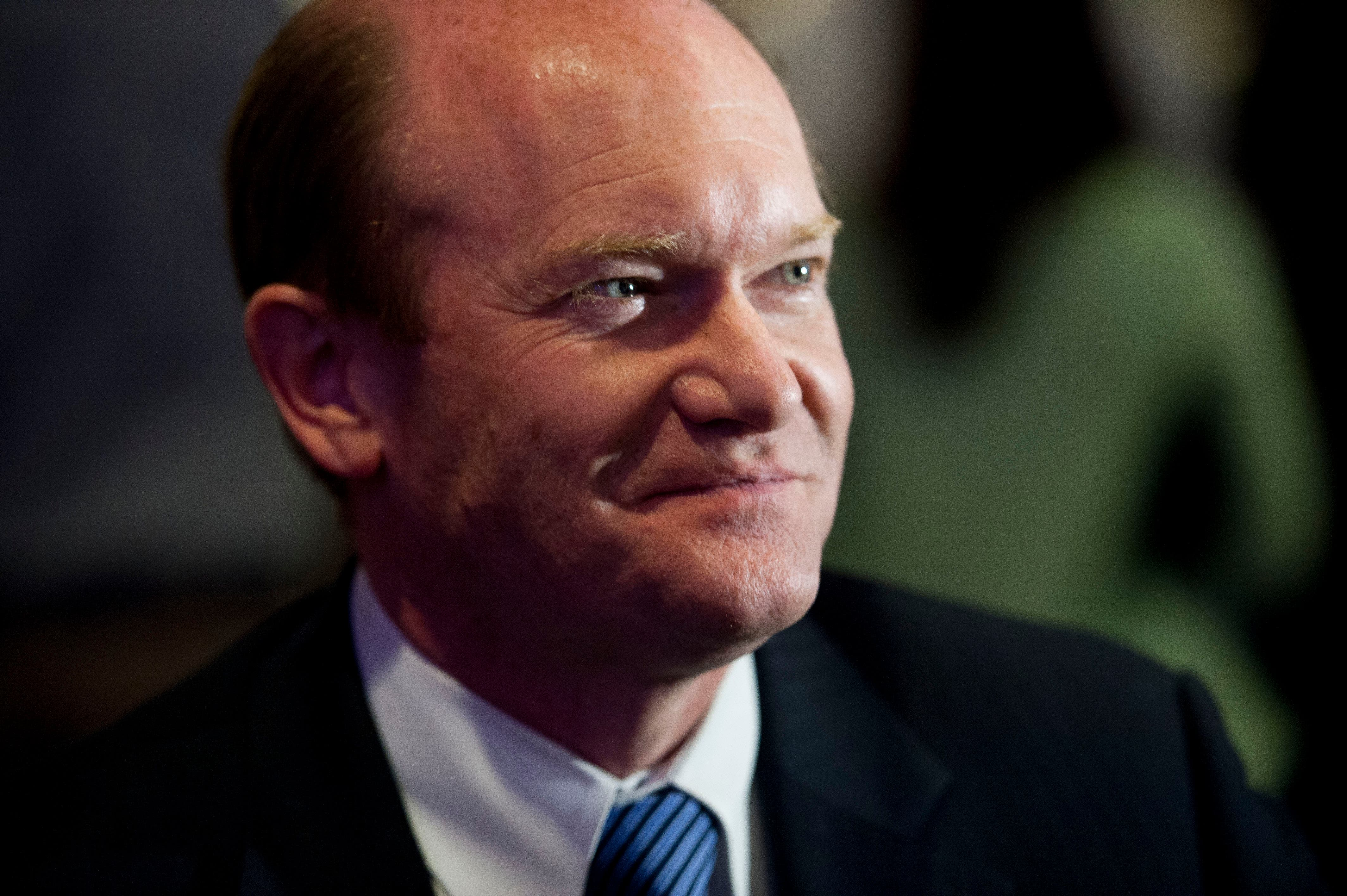 Senator Chris Coons plans to have his amendment called up for debate on Tuesday. (File: AP)