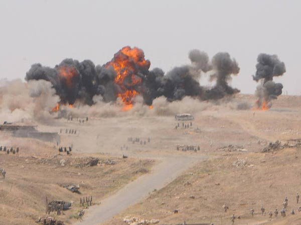 الجيش العراقي ينشر دبابات ومدفعية ثقيلة في محيط الرمادي