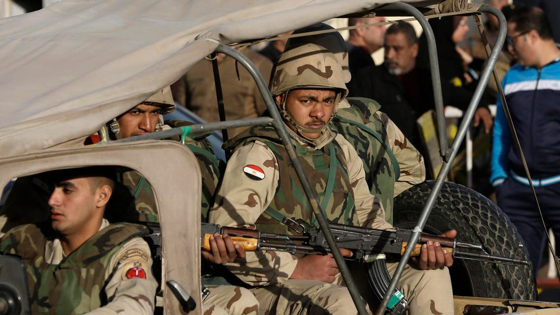 On April 2, Sinai Province claimed a series of simultaneous attacks that killed 15 soldiers and two civilians in the restive peninsula. (File: AP)