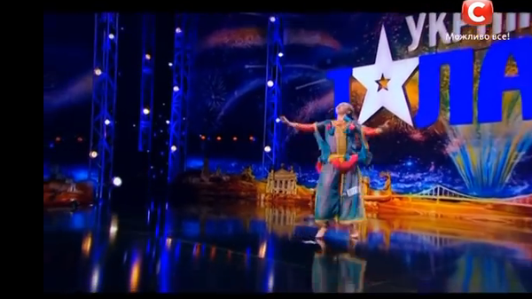 Girl performs Moroccan dance on Ukrainian TV talent show