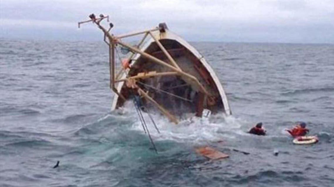 غرق مركب هجرة غير شرعية