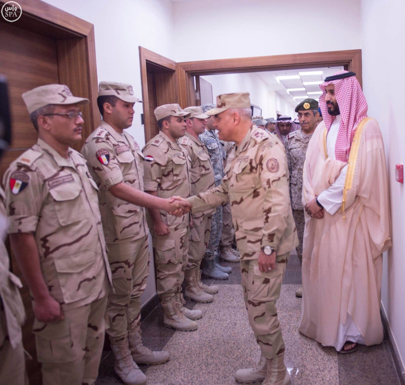 Egypt defense minister in Riyadh to discuss operation in Yemen (SPA)