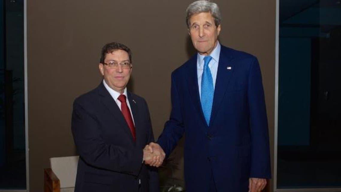 وزرای خارجه آمریکا و کوبا