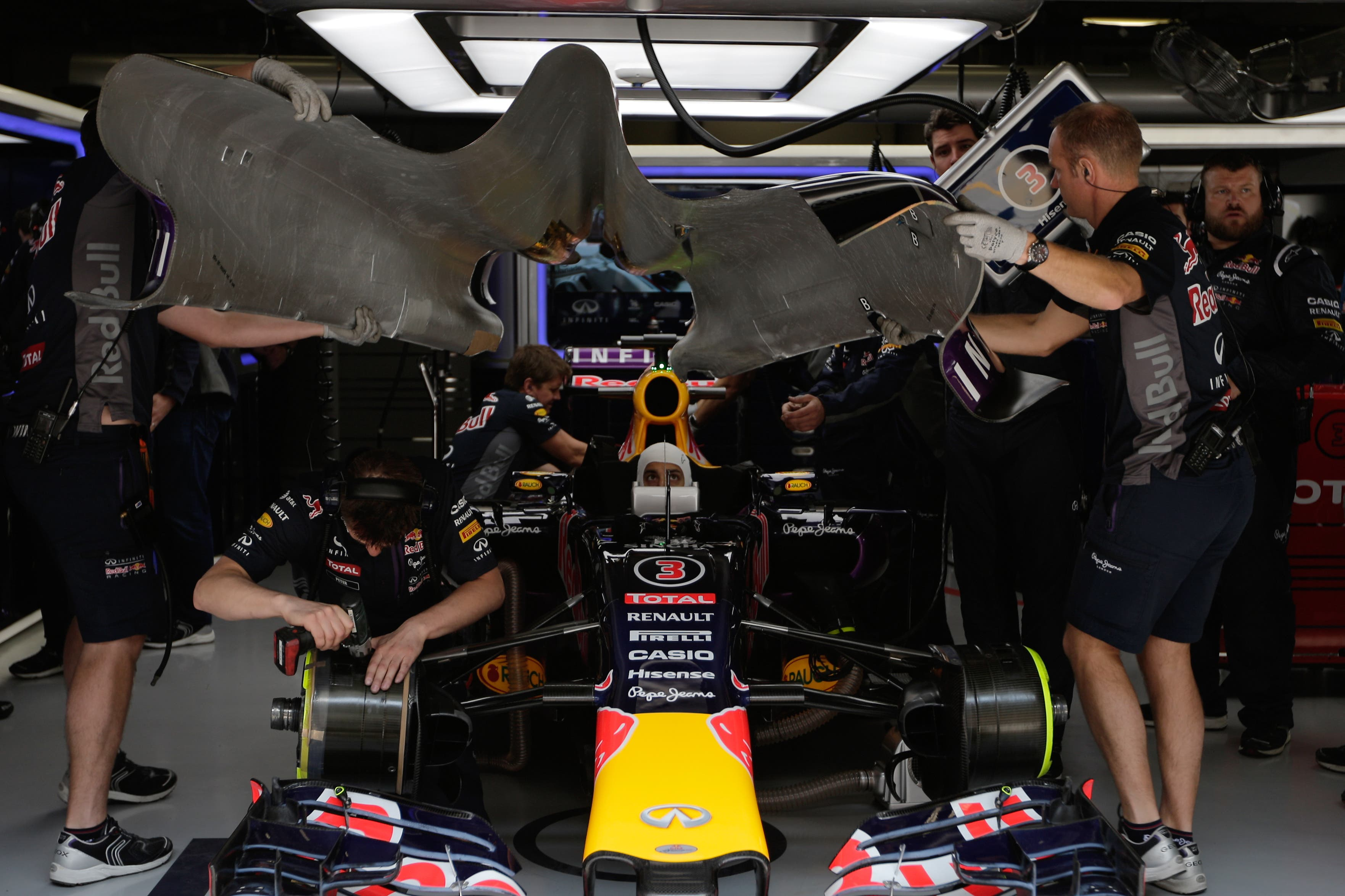 Red Bull team (AP)