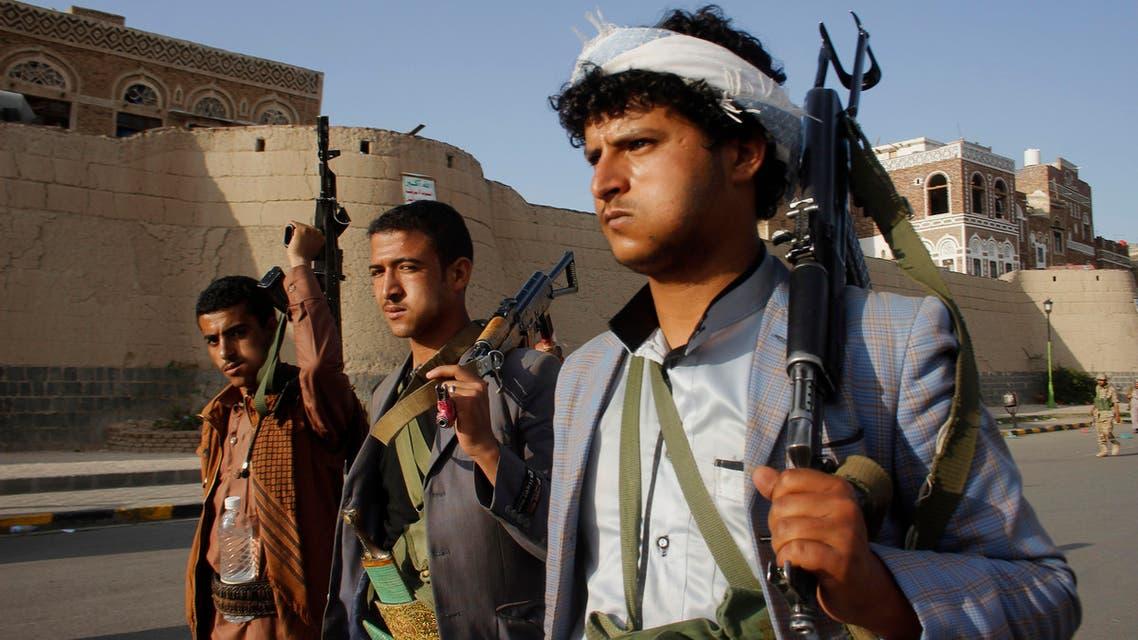 Houthis yemen (AP)