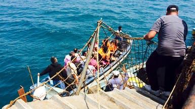 أول سفينة تجارية ترسو بمرفأ ميناء عدن بعد تحريره