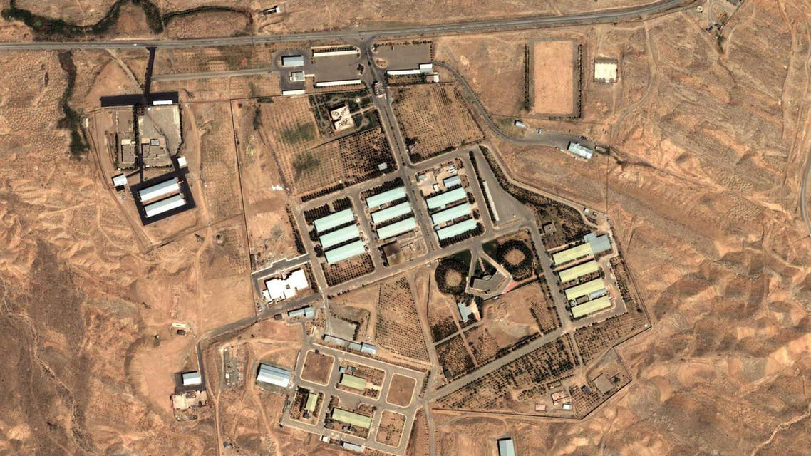 This Aug. 13, 2004 satellite image provided by DigitalGlobe and the Institute for Science and International Security shows the military complex at Parchin, Iran, 30 km  southeast of Tehran. (File: AP)