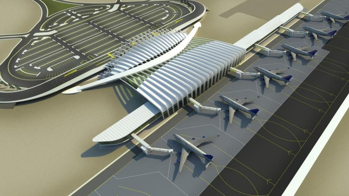 The airport received the first international flight from Cairo International Airport with over 100 passengers on board. (Photo courtesy: openbuildings.com)