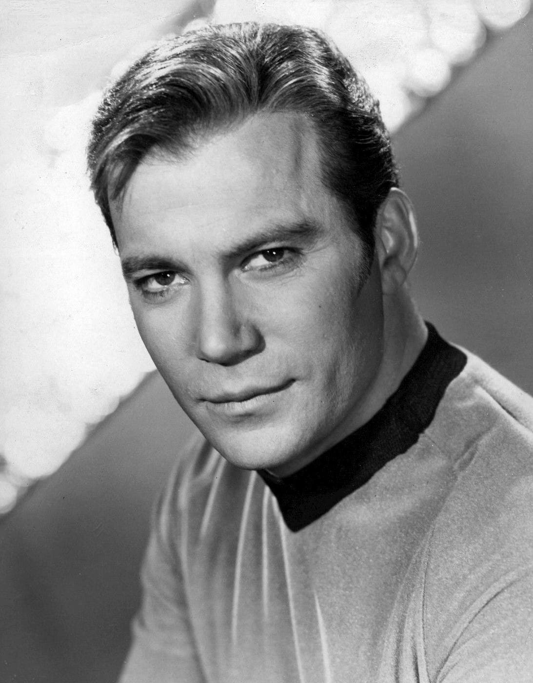 William Shatner as Captain Kirk on Star Trek. (Photo courtesy: NBC Television)