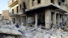 Rebels bombard Syria's government-held Aleppo