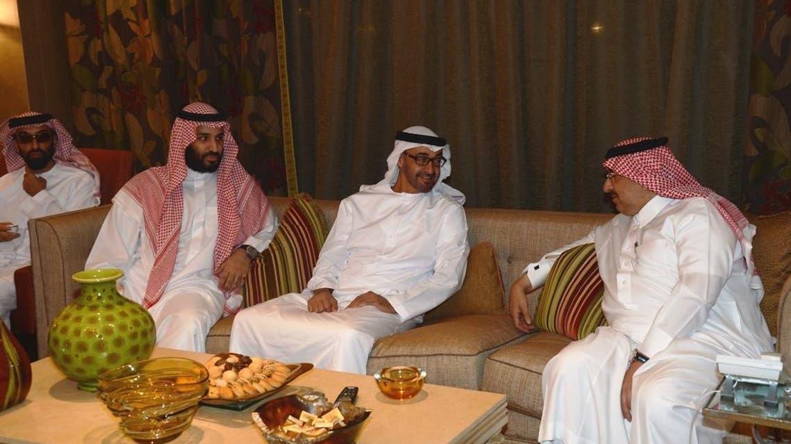 الأمير محمد بن نايف ومحمد بن سلمان