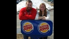 Mr. Burger and Miss King to get free Burger King wedding