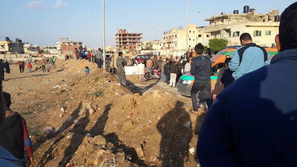 تفجير بشمال سيناء