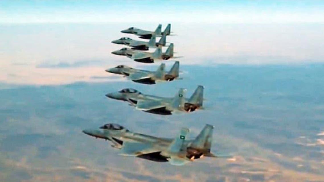 طائرات سلاح الجو القوات المسلحة السعودية عاصفة الحزم