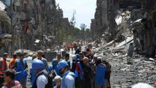 U.N. supplies aid to 500 evacuees from Damascus camp