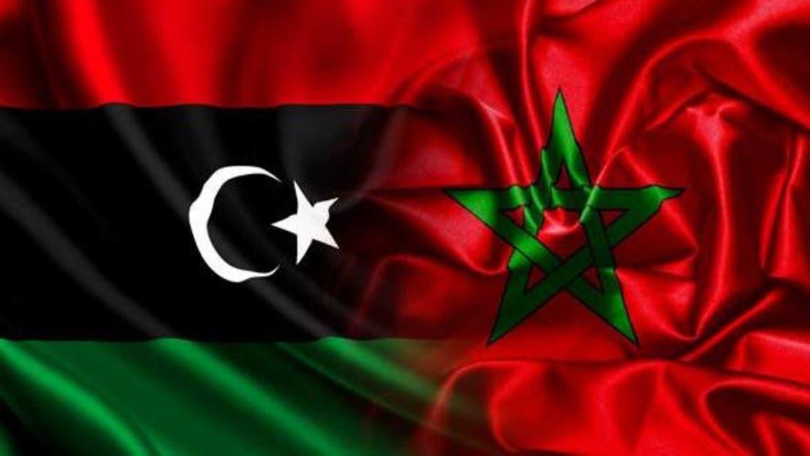 پرچم مغرب و لیبی