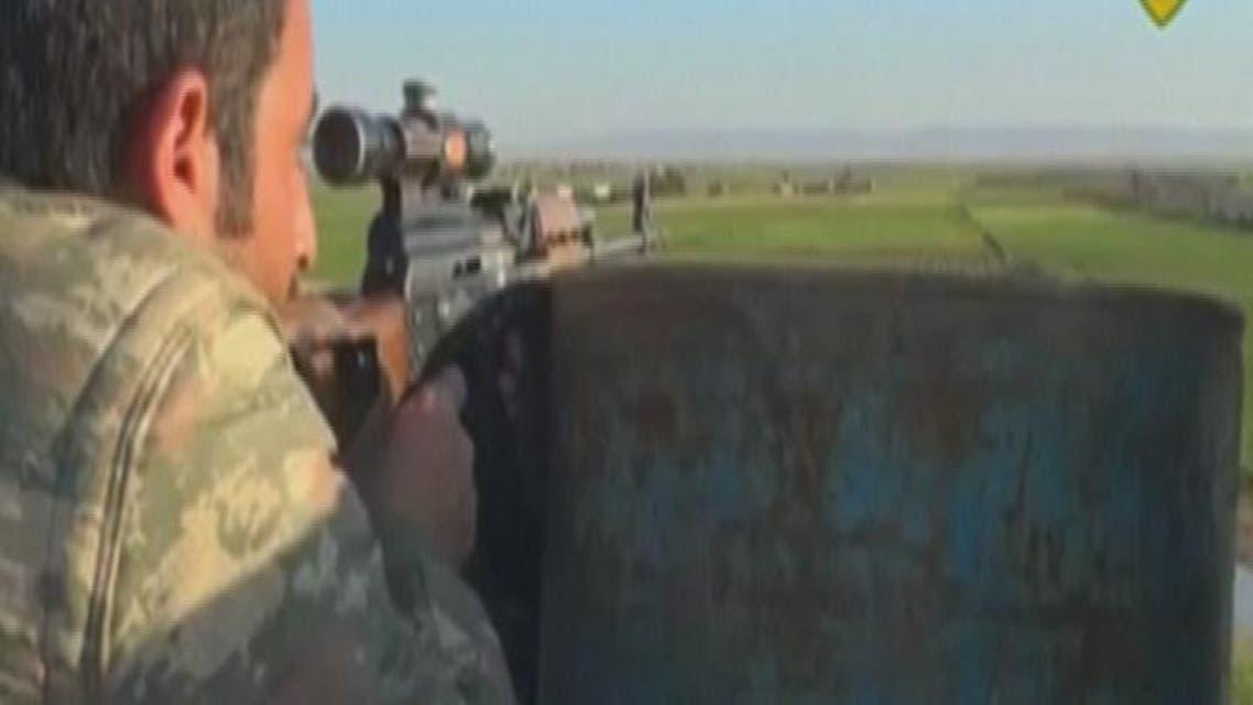 THUMBNAIL_ المقاتلون الأكراد يسيطرون على عدد من القرى في الرقة