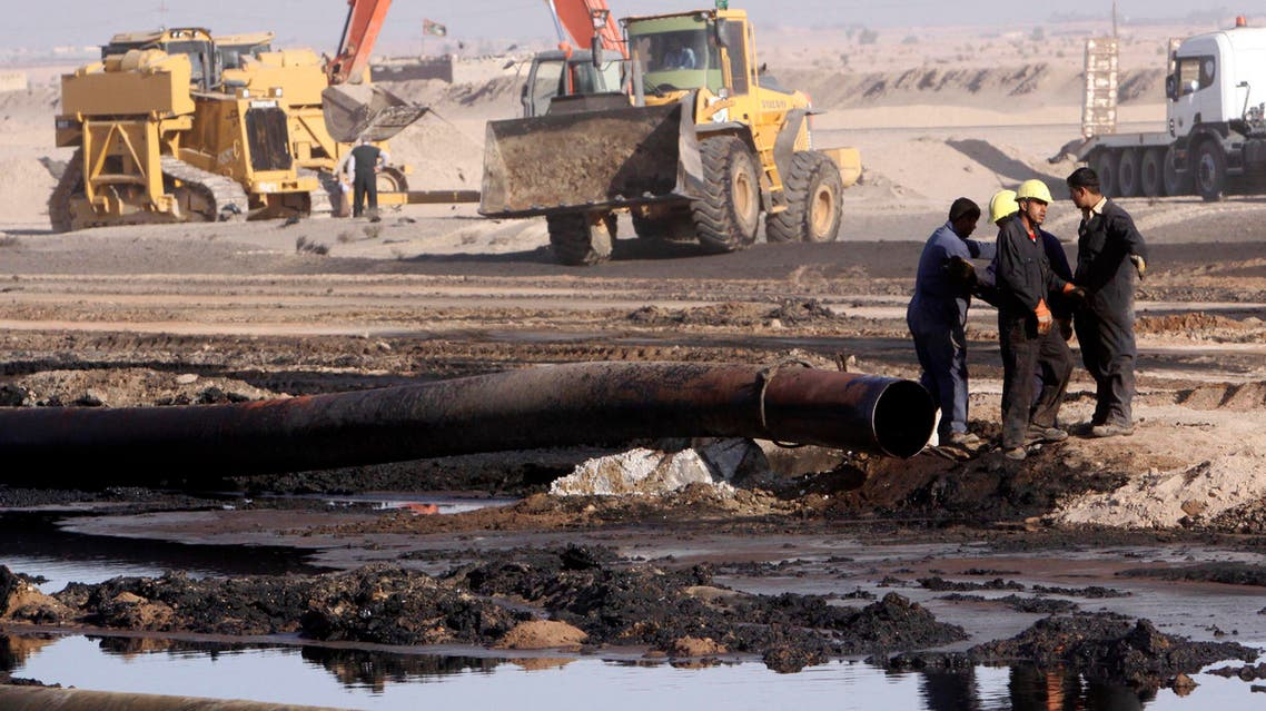 Basra Heavy Crude oil Iraq - AP