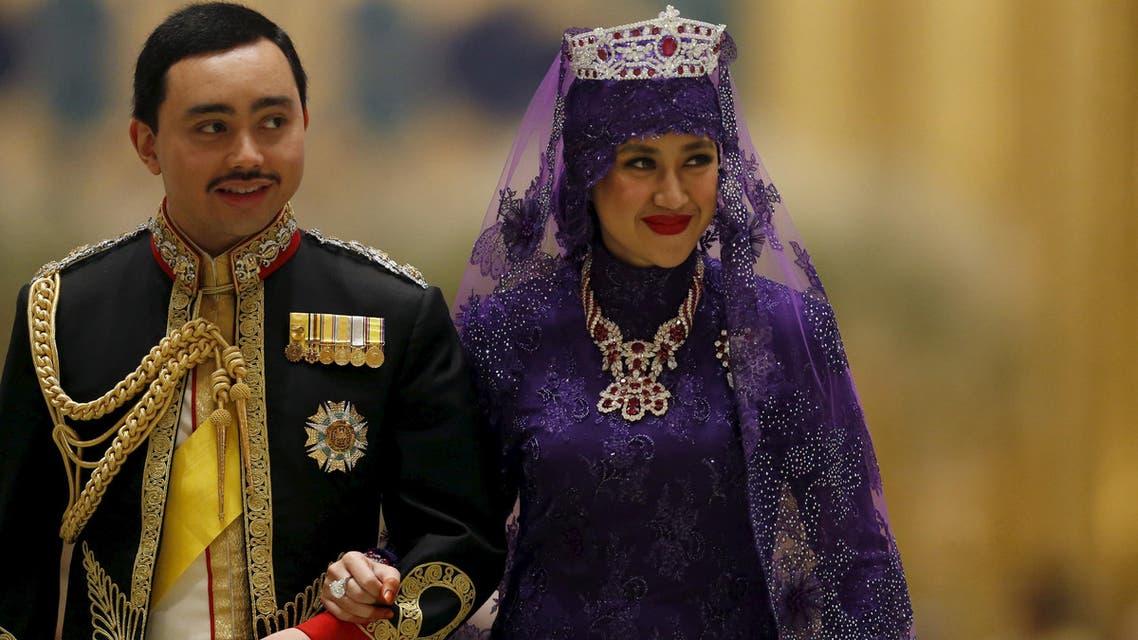 Royal wedding in Brunei