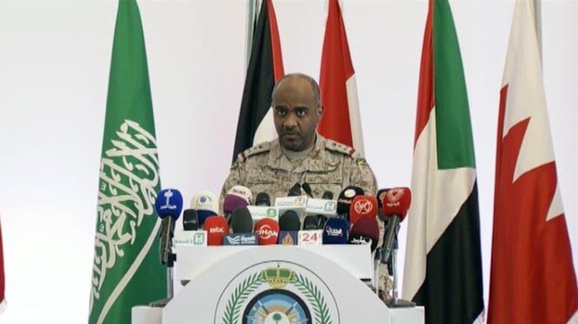 احمد عسيري المتحدث بأسم القوات المسلحة السعودية عاصفة الحزم