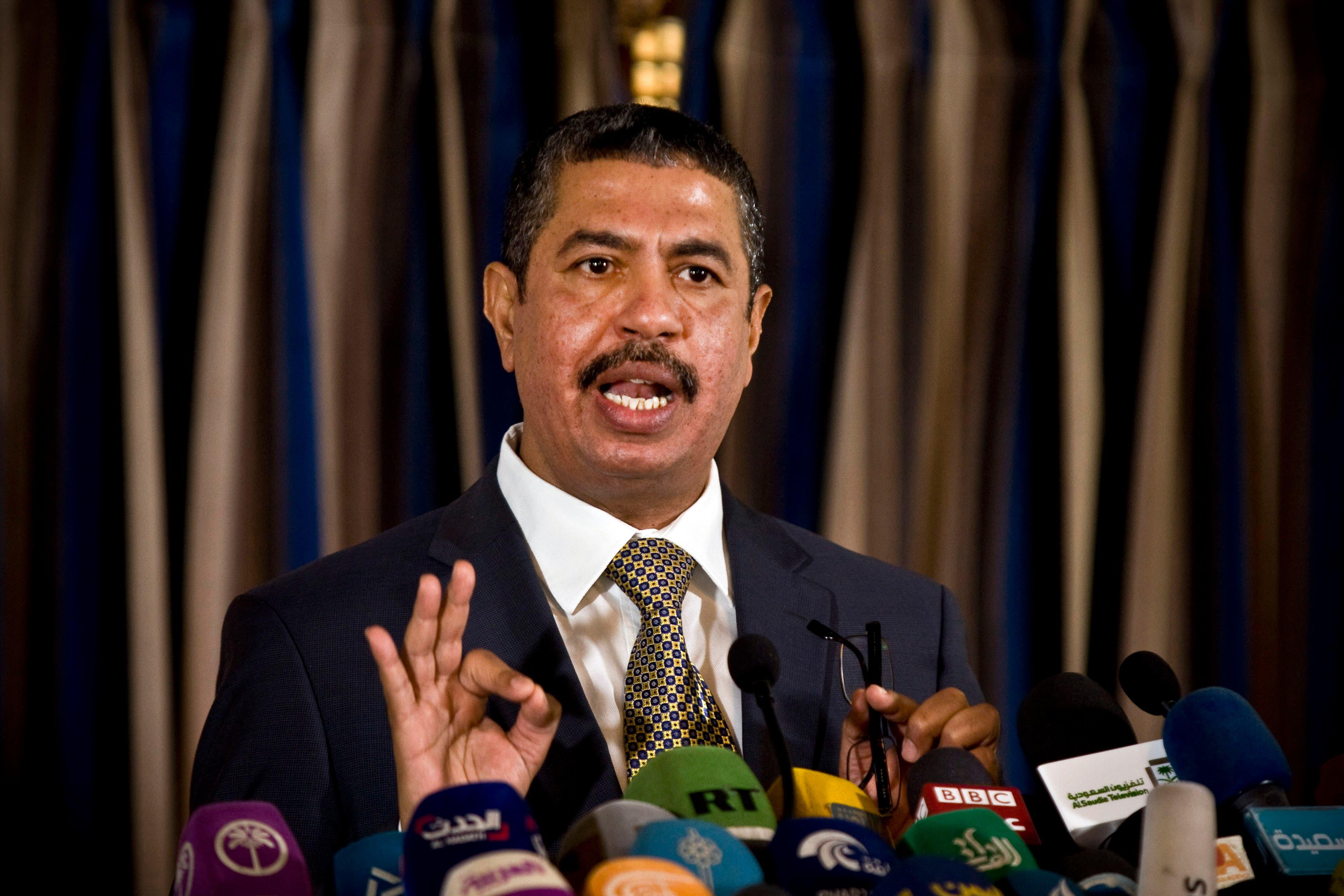 Yemen's new Deputy President Khaled Bahah seen in this November 9, 2014 file photo. (AP)