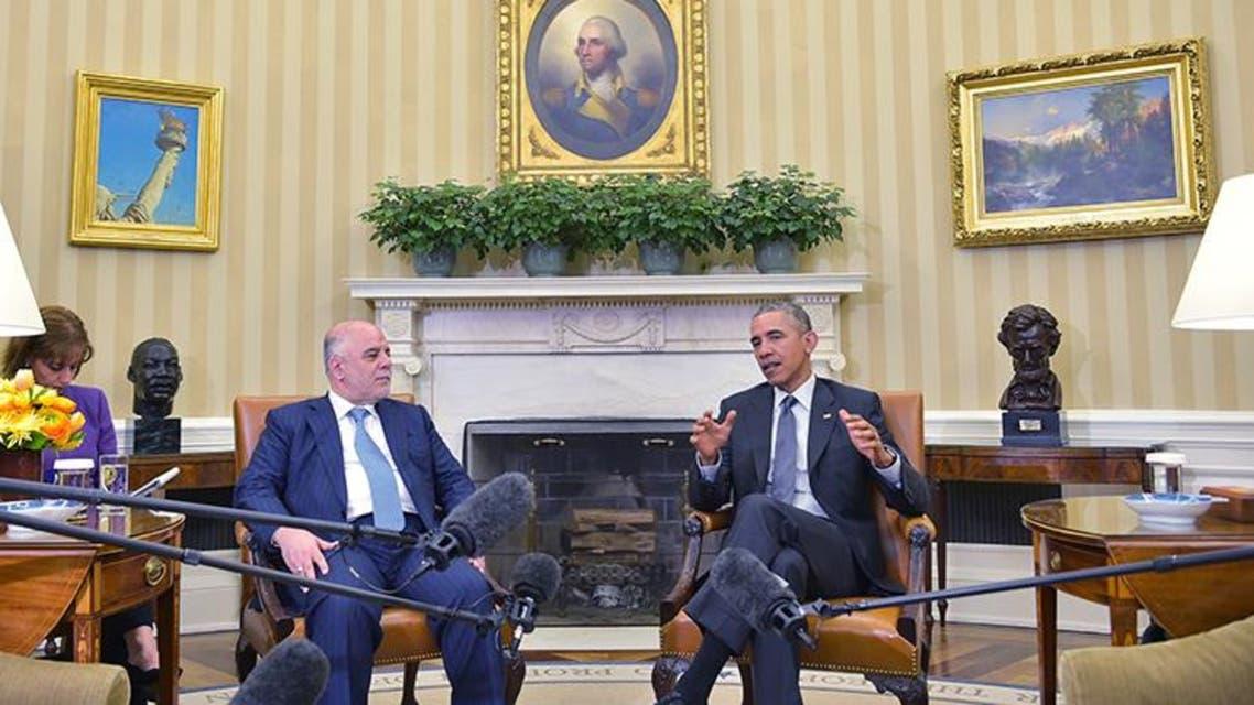اوباما مع العبادي