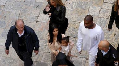 #كيم #كارداشيان في #القدس لتعميد ابنتها