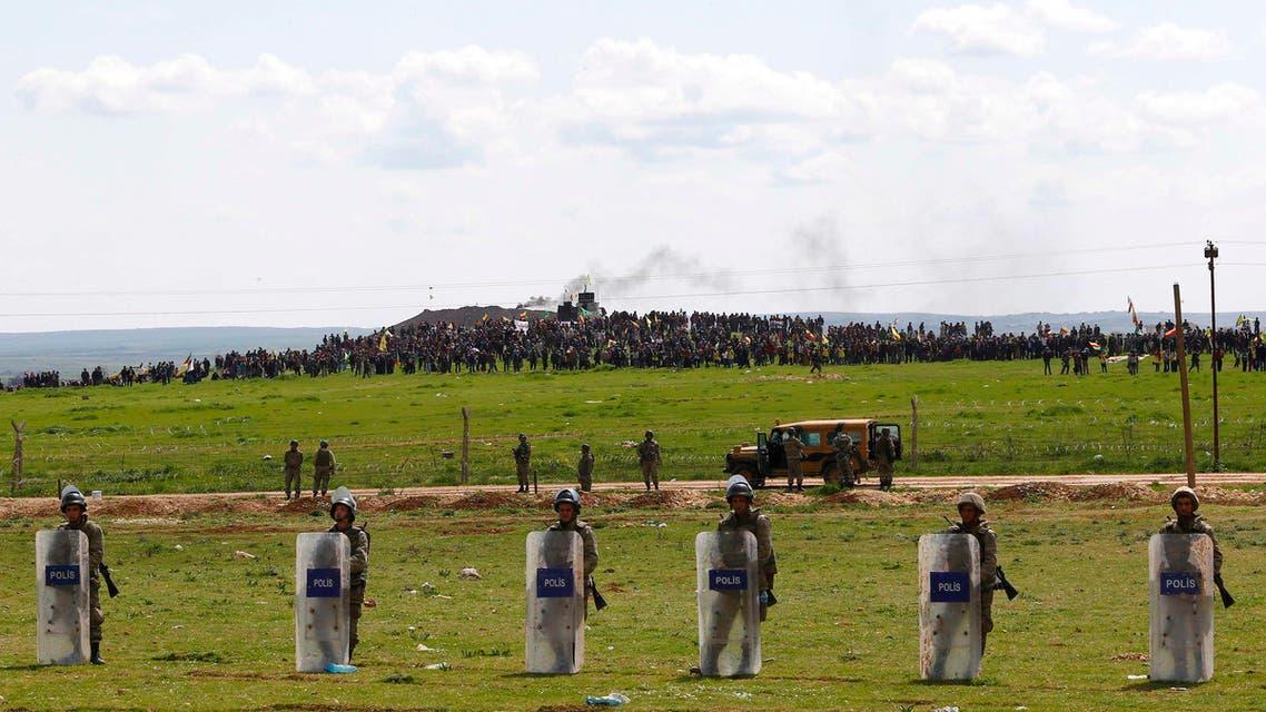 Turkey Syria border Reuters