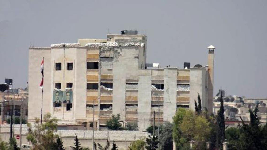 مبنى المخابرات الجوية في حلب