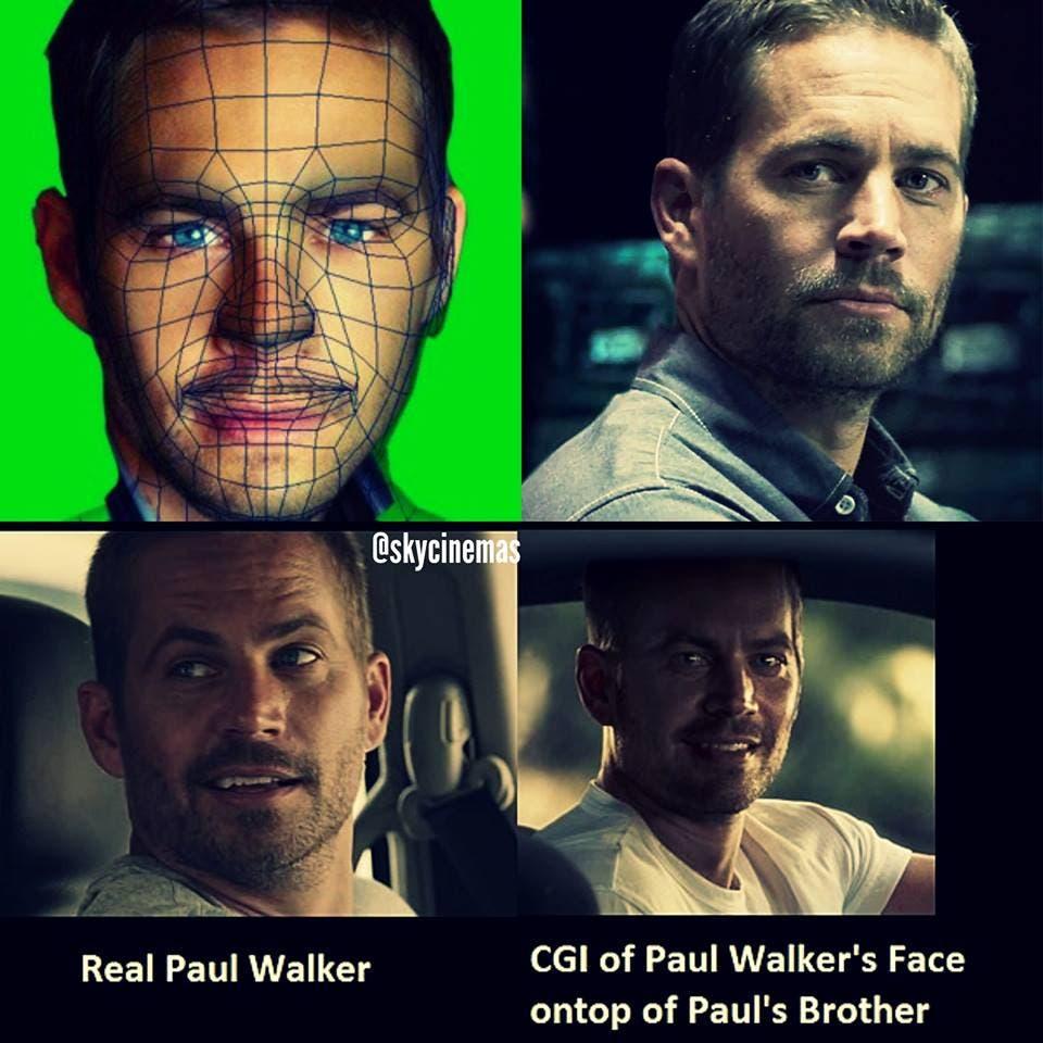 Paul Walker CGI