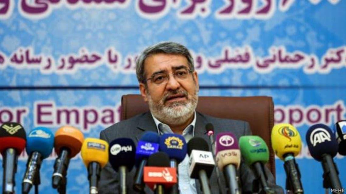 وزير الداخلية الإيراني عبد الرضا رحماني فضلي