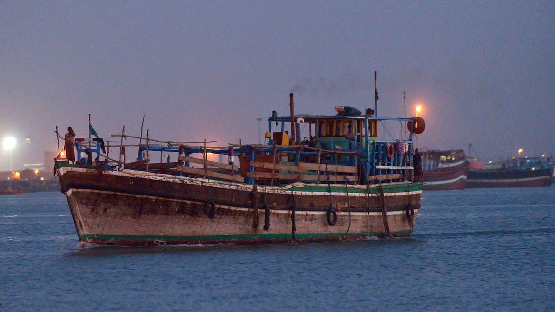 سفن وقوارب تحمل لاجئين من اليمن إلى جيبوتي