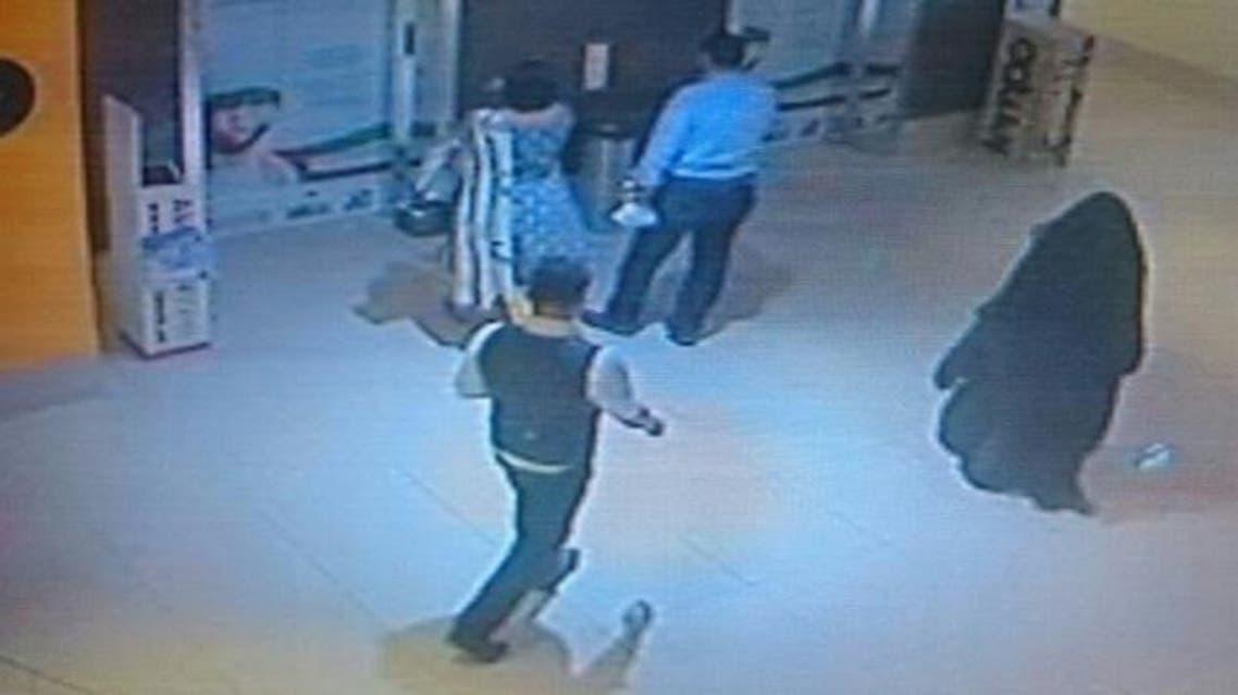 CCTV footage (Courtesy of Abu Dhabi Police)