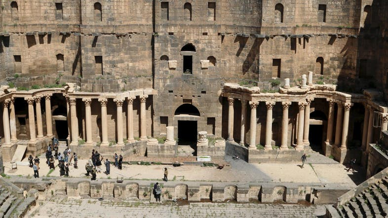 Video Unesco Listed Site Turns Into Battlefield In Syria Al