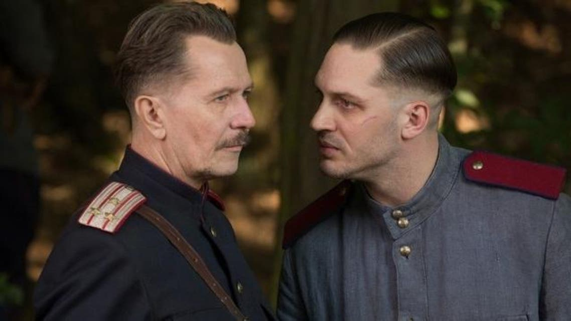 Gary Oldman, left, and Tom Hardy in Child 44. (Photo courtesy of Summit Entertainment)