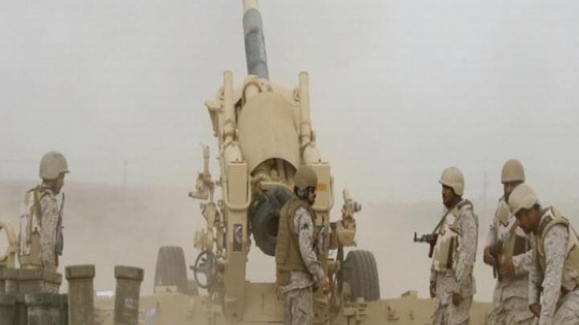 THUMBNAIL_ الجيش السعودي منتشر على طول الحدود مع اليمن