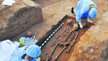 5,000-year-old skeletons found in India